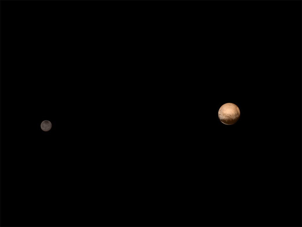 Pluto And Charon Float In Space Together In Latest ...